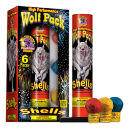 Reloadable Mortars Wolf Pack Performance Shells