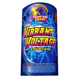 Fireworks Fountains Vibrant Voltage