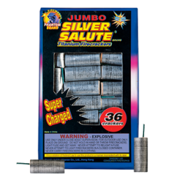 Firecrackers Silver Salute 36 count