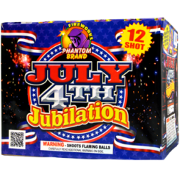 500 Gram Firework Repeater July 4th Jubilation