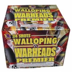 500 Gram Fireworks Repeater Walloping Warheads
