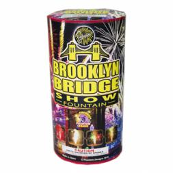 Fireworks Fountains Brooklyn Bridge