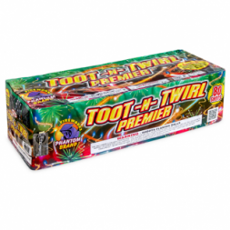 500 Gram Repeater Fireworks Toot n Twirl