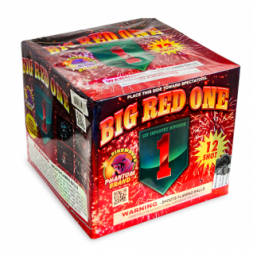 500 Gram Firework Repeater Big Red One