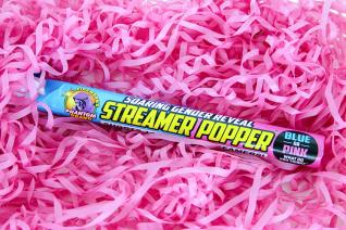 Soaring Gender Reveal Streamer Popper, Pink (1pc)