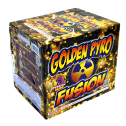 500 gram firework repeater golden pyro fusion