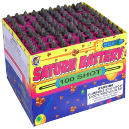 200 Gram Firework Repeater Saturn Battery