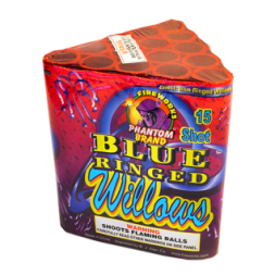 200 Gram Firework Repeater Blue Ringed Willows