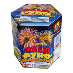 200 Gram Firework Repeater Palm Pyro Pageantry