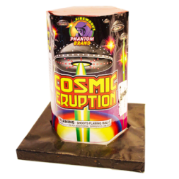 200 Gram Fireworks Repeater Cosmic Eruption