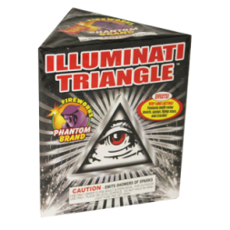 Fireworks Fountains Illuminati Triangle