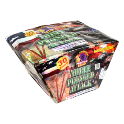 500 Gram Firework Repeater Three Pronged Attack