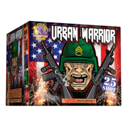 500 Gram Fireworks Repeater Urban Warrior