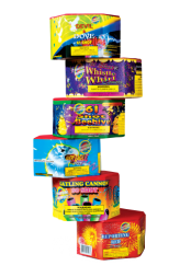 Fireworks Assortment Aerial Barrage Assortment