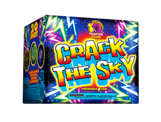 500 Gram Firework Repeater Crack the Sky