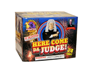 500 Gram Firework Repeater Here Come Da Judge