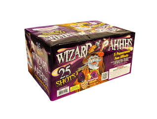 500 Gram Firework Repeater Wizard of Ahhs