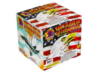 500 Gram Firework Repeater Untamed Retribution