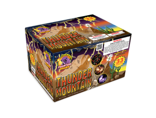 500 Gram Firework Repeater Thunder Mountain