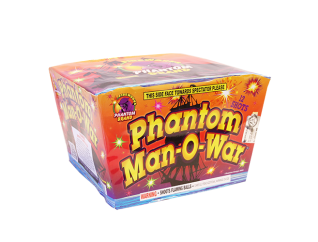 500 Gram Firework Repeater Phantom Man O War