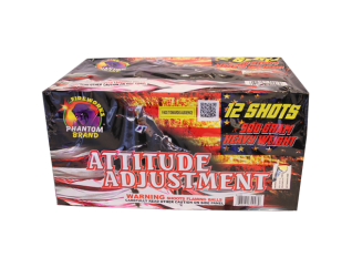500 Gram Firework Repeater Attitude Adjustment
