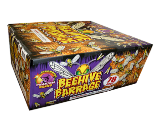 500 Gram Fireworks Repeater Beehave Barrage