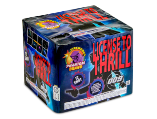 500 Gram Fireworks Repeater License to Thrill