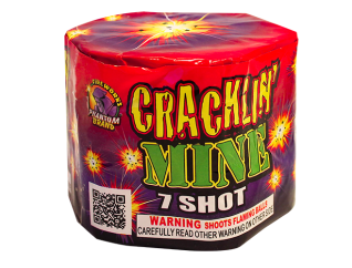 200 Gram Firework Repeater Cracklin Mine