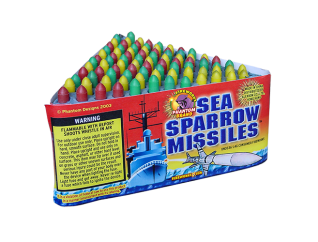 200 Gram Fireworks Repeater Sea Sparrow Missiles