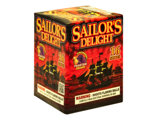 200 Gram Firework Repeater Sailor's Delight