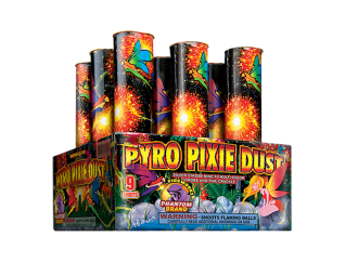 200 Gram Firework Repeater Pyro Pixie Dust