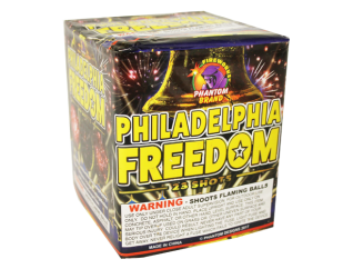 200 Gram Firework Repeater Philadelphia Freedom