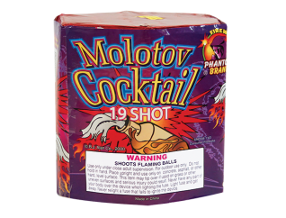 200 Gram Firework Repeater Molotov Cocktail