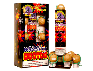 Reloadable Mortars Whistling Buster