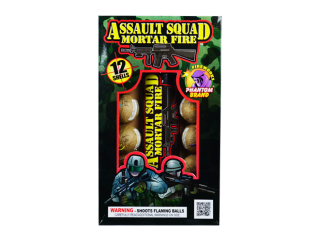 Reloadable Mortars Assault Squad Mortar Fire