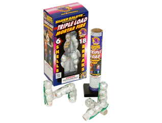 Reloadable Mortars Tripleload Mortar Fire
