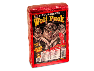 Wolf Pack fireworks firecrackers