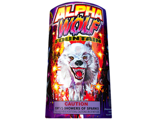 Fireworks Fountains Alpha Wolf