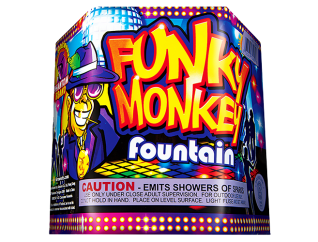 Fireworks Fountains Funky Monkey