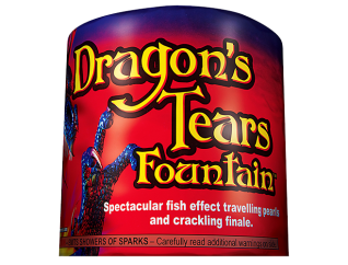 Fireworks Fountains Dragons Tears
