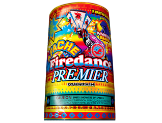 Fireworks Fountains Apache Firedance Premier