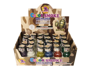 Smoke Ball Color Grenades