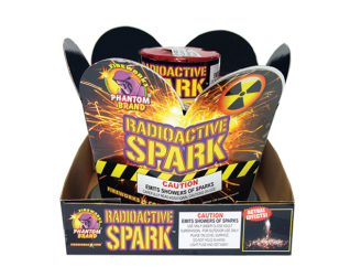Fireworks Fountains Radioactive Spark