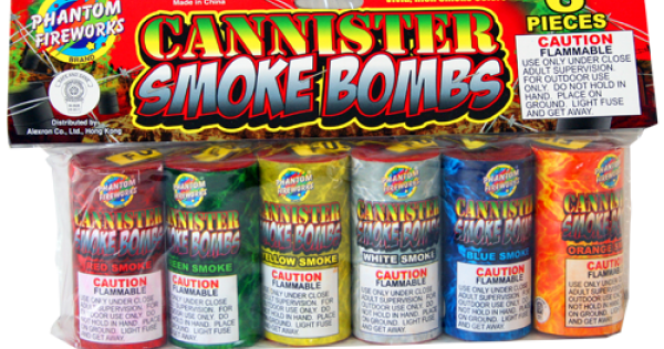 Ground & Non-Aerial | Smoke Items | Cannister Smoke Bombs, 6