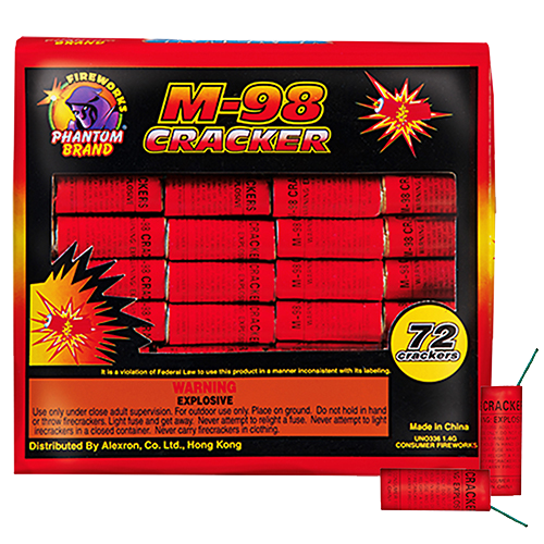 M-98 Firecracker, 72 ct. box