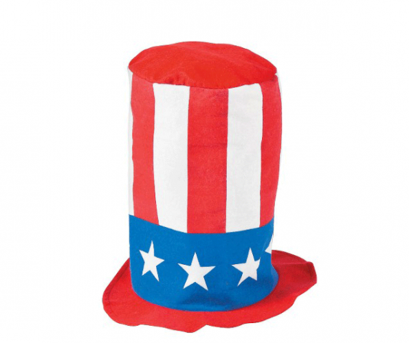 Patriotic Stovepipe Hat (Online Only)