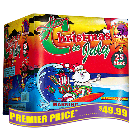 Christmas of July 500 gram fireworks repeater