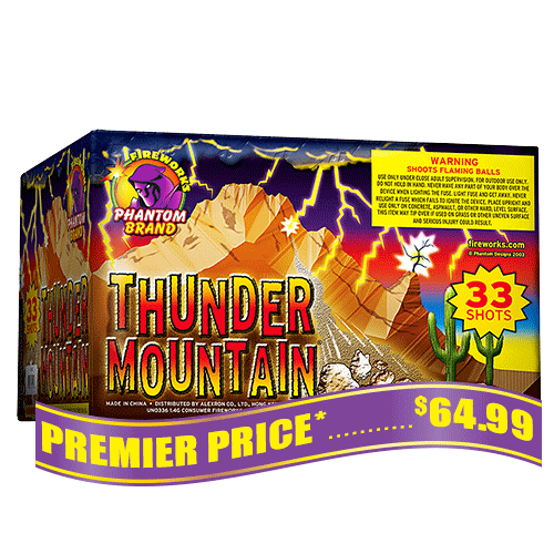 Thunder Mountain, 33 Shot