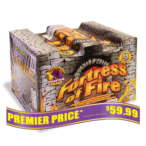 Fortress Of Fire, 15 Shot