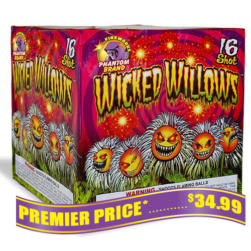 Wicked Willows, 16 Shot